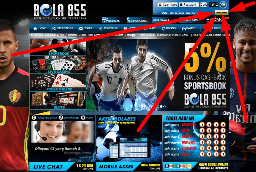 Cara Daftar id Pada Situs Bola Online Profesional Resmi